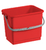 4 LT BUCKET - RED COLOUR