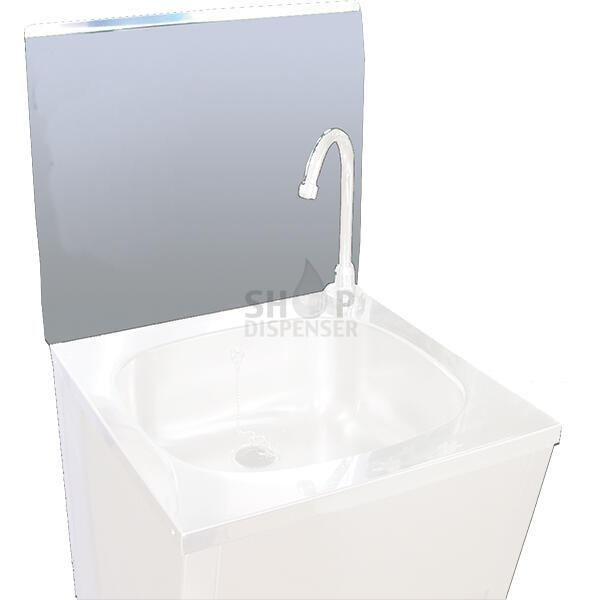 DETACHABLE PLATE WITH HOLE FOR HAND WASHBASIN 450 MM
