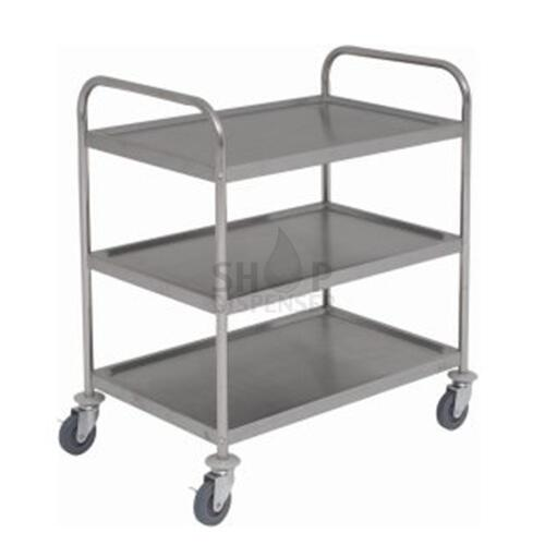 CAR CATERING INOX C / 3 SHELVES