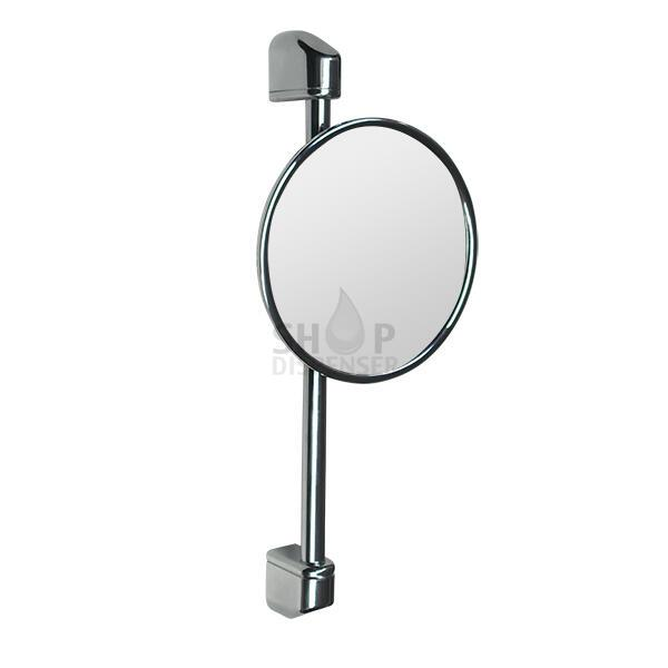 CHROMED ABS ADJUSTABLE HEIGHT MIRROR