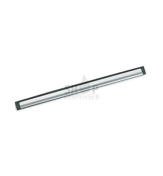 STAINLESS STEEL CHANNEL WITH RUBBER - 45 CM