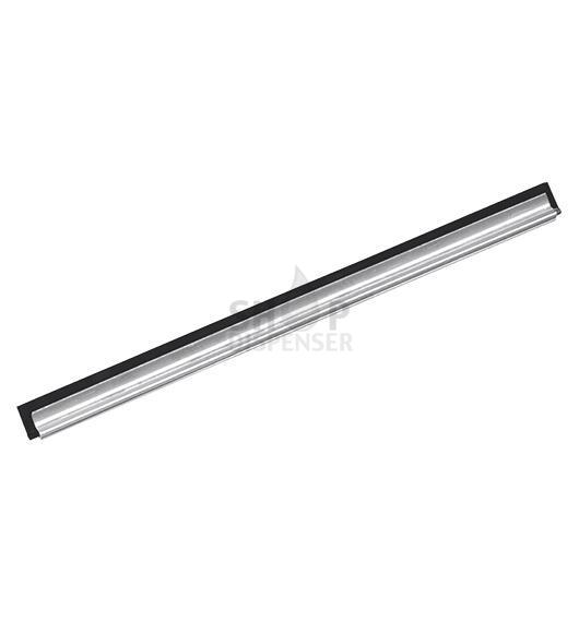 STAINLESS STEEL CHANNEL WITH RUBBER - 35 CM