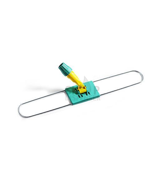 JOINTED METAL DUST MOP FRAME CM60 W/PL.PLATE&SUPP.