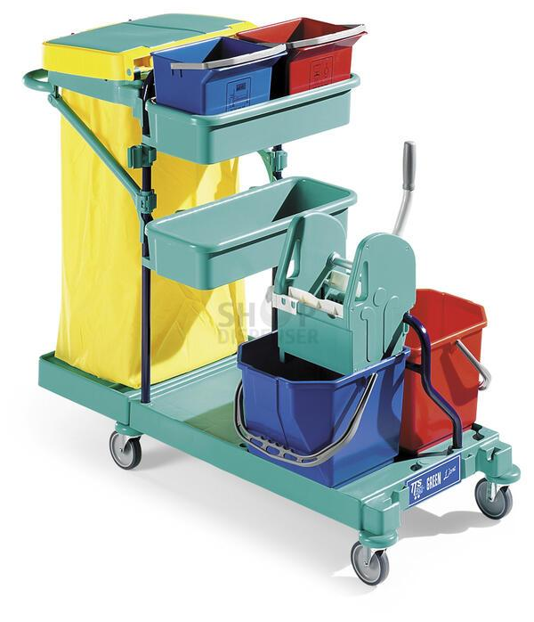 GREEN 30 - TROLLEY - BLUE STRUCTURE