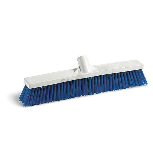BLUE PBT BROOM FOR FOOD INDUSTRY CM 60