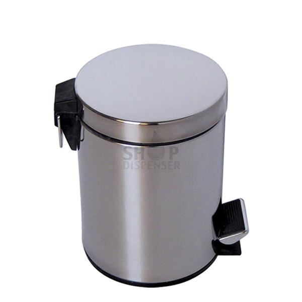 BRUSHED STAINLESS BUCKET 12 LITERS