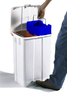 DERBY- 25 LT PLASTIC BIN WITH PEDAL