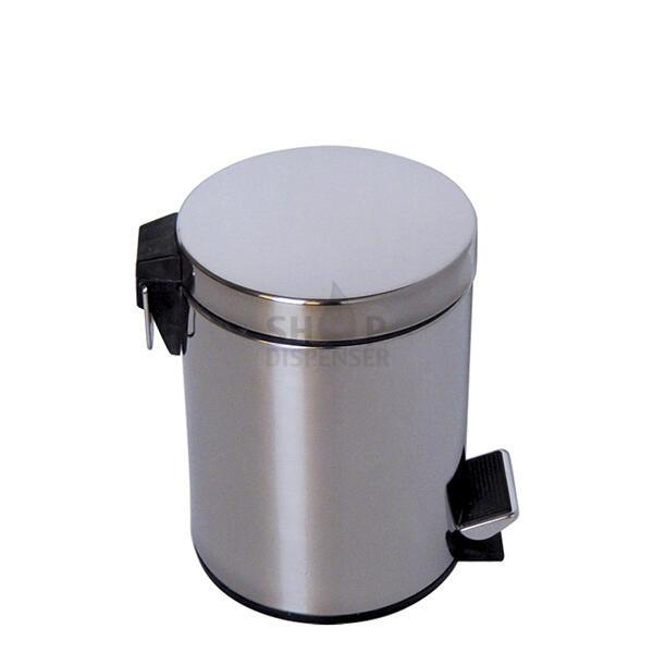 BUCKET STAINLESS BRUSHED 5 LITRES