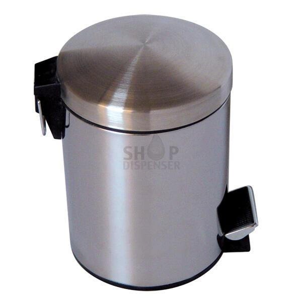 BUCKET STAINLESS BRUSHED 3 LITERS